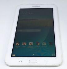 "Samsung Galaxy Tab E Lite SM-T113 7"" Tablet White Fully working"