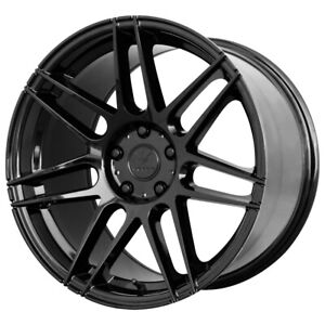"4-NEW 17"" Inch Verde V21 Reflex 17X8.5 5x120 +40mm Gloss Black Wheels Rims"
