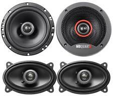 """(2) MB QUART FKB116 6.5"""" 240 Watt 2-Way Car Speakers+(2) 4x6"""" 180w Speakers"""