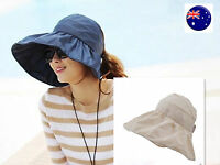 Lady Hiking Wide Brim Sun UV PROOF Protection Light Outdoor foldable Hat Cap