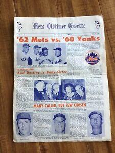 New York Mets Oldtimer Gazette Newspaper Volume 1, #1, from July 8, 1967