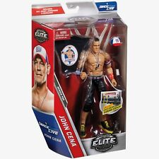 WWE Elite Series 50 John Cena Wrestling Figure by Mattel Brand New +Accessories