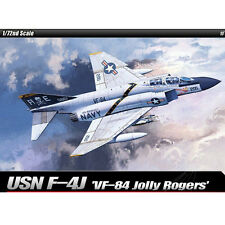 [SHIP FROM US] ACADEMY 1/72 USN F-4J VF-84 Jolly Rogers #12529