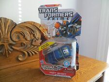 Transformers ROTF Deluxe Class Autobot Hot Shot MIP!!