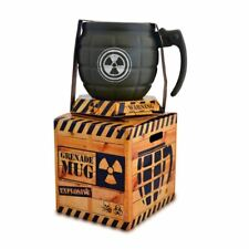 Grenade Mug Ceramic Novelty Coffee Tea Cup Military Army Gift