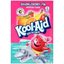 Kool-Aid Unsweetened Drink Mix Packets SHARKLEBERRY FIN (24 packets)
