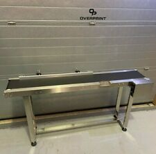 More details for conveyor 1.5 meter x 300mm wide, belt, stainless, variable speed  - uk supplier