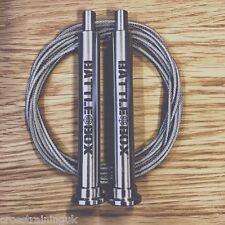 SPEED ROPE 3.0 BATTLEBOX STAINLESS STEEL HANDLES CROSSFIT SKIPPING ROPE