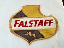 Vintage Falstaff Beer Large Uniform Jacket Patch - LOOK!