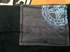 LEVI x OBEY 514 SLIM BLACK JEANS 34 x 32 SHEPARD FAIREY lvc jacket