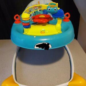 baby Einstein walker explorer baby infant, activity play walker w/musical toy.