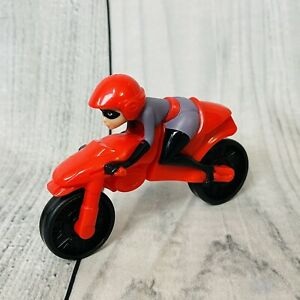McDonald's Happy Meal Toy Incredible 2 Mrs Incredible on Stretch Motorcycle 2018