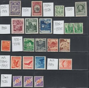 Liechtenstein 1917-1938 Mint and used collection.