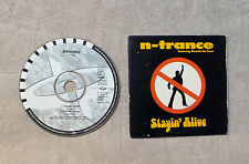 "CD AUDIO MUSIC / N-TRANCE FEATURING RICARDO DA FORCE ""STAYIN' ALIVE"" CDS 2T 1995"