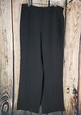 GIORGIO ARMANI Silk 42 Dress Pants Trousers Brown Pure Silk Borgo 21 Italy