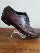 Florsheim Men's Shoes Wingtip Brown Brogues Style Leather Dress Mens Size 8.5 3E