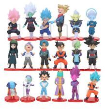 DRAGON BALL - SET 6 FIGURAS, Goku, Vegeta, Gohan, Videl, Majin Buu, Mr Satan