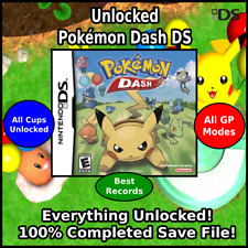 Unlocked Pokemon Dash   Everything Unlocked!   All Cups & Modes   DS 3DS