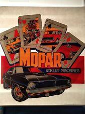 Ultra Rare Vintage Mopar Street Machine Challenger T-shirt Transfer Nos