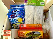 Elementary Solar Educational Kit of 14 items Solar Balloon/Fan/Radiometer USED
