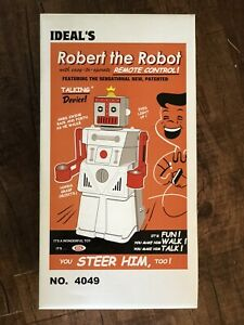 Ideal's Robert The Robot 50th 2004 Edition UNOPENED w/Box