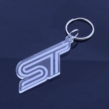 Ford Focus Fiesta ST Badge Keyring - Handmade Laser Cut Gift