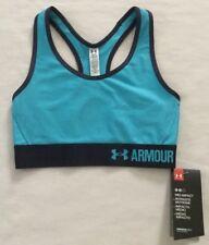 NWT Women's Under Armour Mid Warp Knit Sport Bra 1310987 Size XS MSRP $25