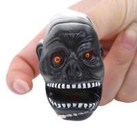 Children Halloween Story Finger Props Spooky Head Mask Finger Puppet Toys W
