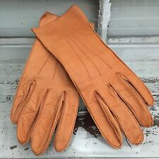 Soft Deerskin Leather Driving Gloves Beautifully Crafted Women's 6.5 Never Worn