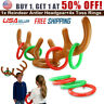 Inflatable Reindeer Hat Antler Ring Toss Birthday Party Holiday Kids Adults Game