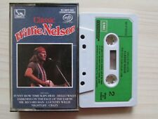 CLASSIC WILLIE NELSON CASSETTE, 1975 EMI, RARE MADE IN IRELAND TAPE, TESTED.