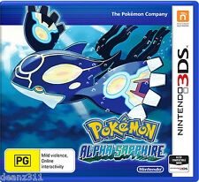 POKEMON ALPHA SAPPHIRE *NEW + SEALED* AUSSIE PAL Version Nintendo 3DS/3DS XL/2DS