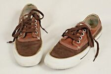 f3be7567ab10 Converse All Stars Brown Leather Sneakers Unisex Shoes Men s Sz 5.5 Women s  7.5