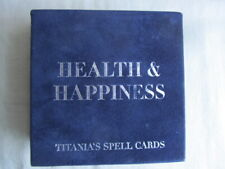 Titania's Spell Cards - Health & Happiness - Quadrille Good Complete Condition