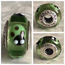 Pandora GOLDEN COCCINELLA MURANO GLASS ciondolo ref 790653 S925 ALE fuori produzione