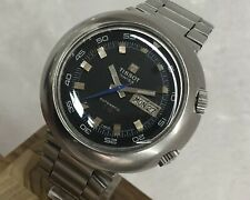 TISSOT AUTOMATIC T12 COMPRESSOR DIVER STAINLESS STEEL GAY FRERES BAND MEN WATCH