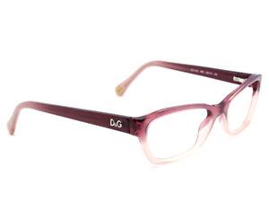 Dolce & Gabbana Eyeglasses DD 1216 1857 Plum Pink Fade Frame 52[]16 135
