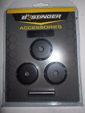 @NEW@ 1- 3pk. B-Stinger Freestyle/Sport Hunter 1 oz. Stabilizer Weights, black