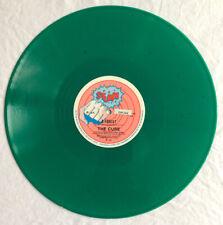 "THE CURE - A Forest - Rare Australian/New Zealand Green Vinyl 12"" /Stunn Records"