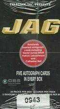 4 BOX LOT TK LEGACY JAG SEALED HOBBY 5 AUTOGRAPHS PER BOX