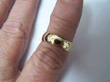 Antique Victorian 18K Gold Band Size 7 from the year 1874 3.7 grams