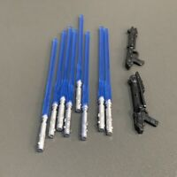 Lot 10 Pcs Lightsaber gun For Star Wars 3.75'' Anakin Han solo Colne Figure Toys