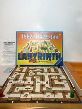 VTG The Amazing Labyrinth aMAZEing Ravensburger Board Game 100% Complete 1988