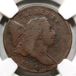 1794 C-6a NGC VG Details Liberty Cap Half Cent Coin 1/2c