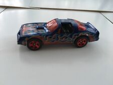 HOT WHEELS PONTIAC FIREBIRD T TOPS  BLUE with RED FLAMES