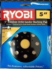 Ryobi 5 Random Orbit Sander Backing Pad Pads 4600505 Rs240 Rs241
