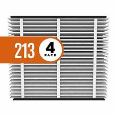 4-pack Aprilaire 213 Air Filter for Aprilaire Whole Home Air Purifiers, Merv 13