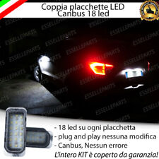 COPPIA PLACCHETTE LED TARGA 18 LED FORD KUGA I , II CANBUS ULTRALUMINOSI