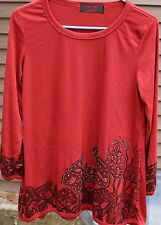 Women's Dark Rust Colored Shirt by DJT