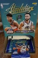 2019-20 Absolute Memorabilia Basketball Retail Pack Possible ZION JA Free Ship!